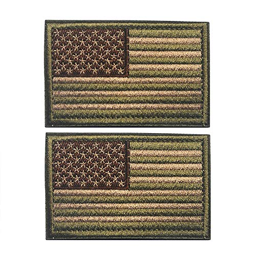 R.SASR Airsoft Patch 1 2 Pieces American Flag Patch Bundle and USA Flag Patches