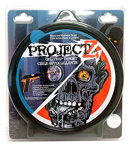 Soft Air Airsoft Target 1 Project Z Zombie Sticky Target Washable Gel Trap SoftAir Target Undead