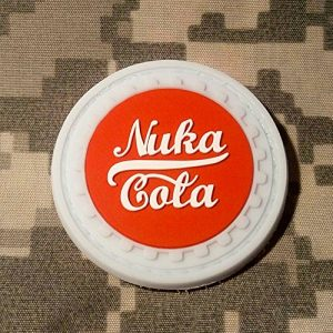 NEO Tactical Gear Airsoft Patch 1 Fallout Nuka Cola PVC Rubber Morale Patch by NEO Tactical Gear Morale Patch - Hook Backed