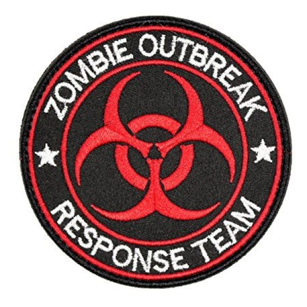 Antrix Airsoft Patch 2 Resident Evil Patches,Antrix 3 Pack Resident Evil Zombie Outbreak Response Team Tactical Morale Patches