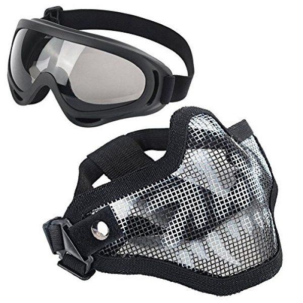 LAOSGE Airsoft Mask 1 LAOSGE Airsoft Mask