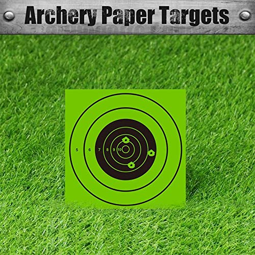 Pop Resin Airsoft Target 4 Pop Resin Splatter Shooting Target Air Shot Paper Targets-5.5 by 5.5-Fits Gamo Cone Traps Metal Box BB Catcher Target Holder Pellet Trap for Air Rifle/Airsoft Pistol