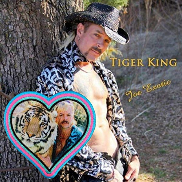 Violent Little Machine Shop Airsoft Morale Patch 3 Violent Little 'Heart of The Tiger King' Joe Exotic Morale Patch with Velcro