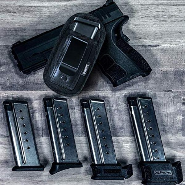 AIKATE  2 4-Pack Universal Magazine Holster Concealed Carry