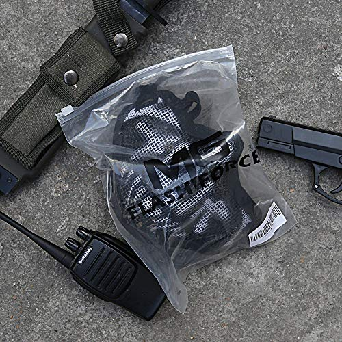 MGFLASHFORCE Airsoft Mask 4 MGFLASHFORCE Airsoft Mask and Goggles Set