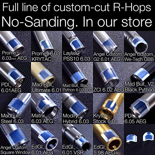 MODIFY Airsoft Barrel 7 MODIFY Baton Flat Hopup Bucking Flathop Flat-Hop Hard Type for R-Hop RHop