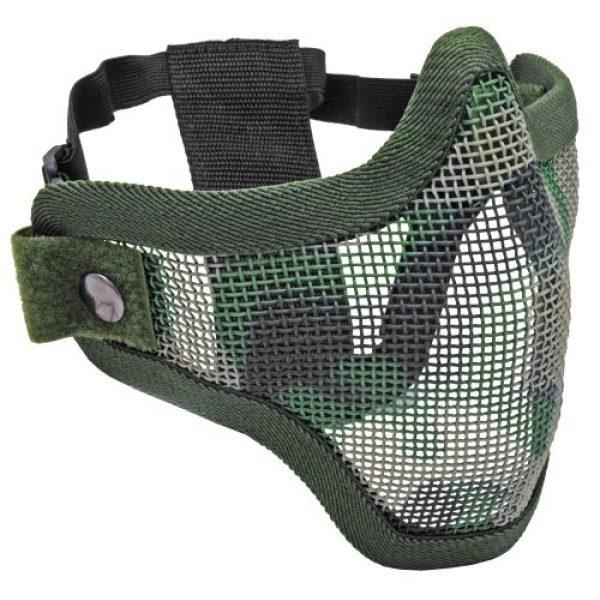 Tactical Crusader Airsoft Mask 1 Tactical Crusader 2G Airsoft Strike Steel Half Mask