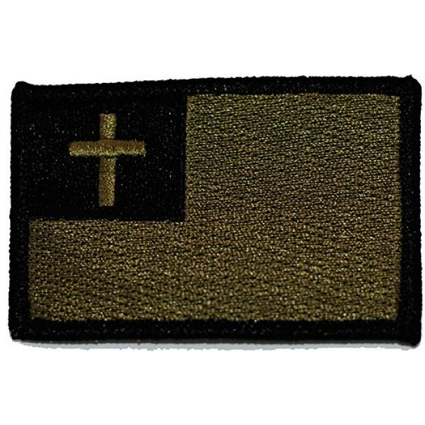 Gadsden and Culpeper Airsoft Patch 1 Tactical Christian Flag