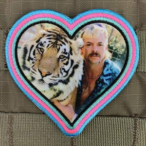 Violent Little Machine Shop Airsoft Patch 1 Violent Little - 'Heart of The Tiger King' Morale Patch