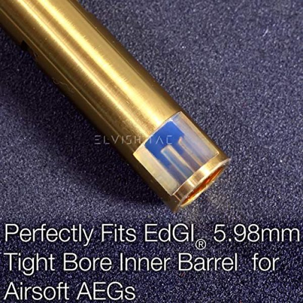 Elvish Tac Airsoft Barrel 4 Elvish Tac RHOP Fit EDGI 5.98 Airsoft AEG Tightbore TBB Barrel NO-Sanding-Needed R Hop R-Hop