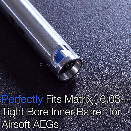 Elvish Tac Airsoft Barrel 5 Elvish Tac RHOP Fit Matrix 6.03mm Steel Airsoft Tightbore TBB Barrel NO Sanding R Hop R-Hop