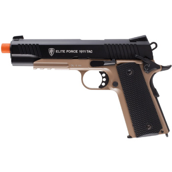 Elite Force 1911 Tactical CO2 Airsoft Pistol Full Metal Blowback By Umarex High Definition - Best Airsoft Pistol
