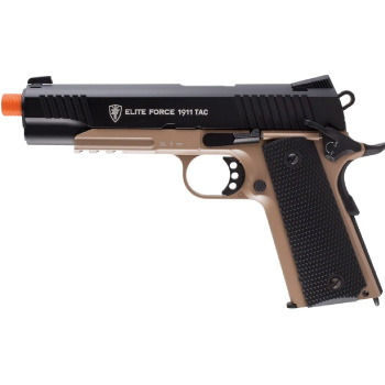 Best Airsoft Pistol 1911 Tactical Full Metal CO2 Blowback Airsoft Pistol by Elite Force