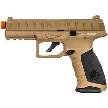Best Airsoft Pistol Beretta APX CO2 Blowback Airsoft Pistol by Elite Force