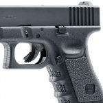 Elite Force Glock 19 Gen3 CO2 6mm BB Pistol Airsoft Gun Left Side Canted Focused