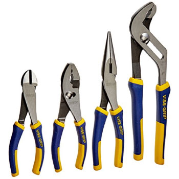 IRWIN VISE-GRIP Pliers Set 4-Piece 2078707 Best Airsoft Gun Preimum Pliers Set
