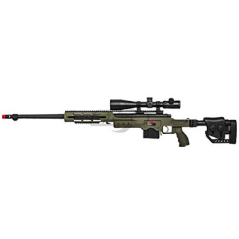 Well MB4411G Bolt Action Spring Airsoft Sniper Rifle Airsoft Gun Best Airsoft Sniper