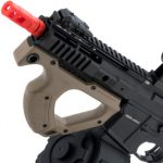 Evike Airsoft ASG Hera Arms Licensed CQR M4 Airsoft AEG by ICS Left Side Rail