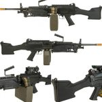 Evike G&P M249 Saw Airsoft AEG Rifle All Sides