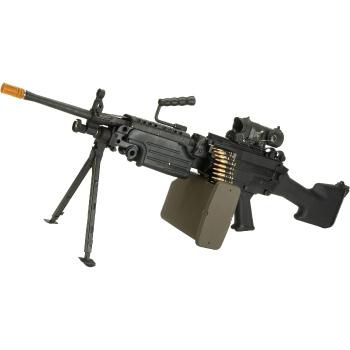 Evike G&P M249 Saw Airsoft AEG Rifle Insane Airsoft Gun