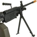 Evike G&P M249 Saw Airsoft AEG Rifle Right Side Barrel