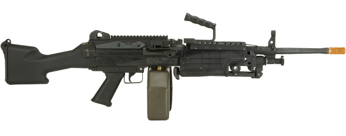 Evike G&P M249 Saw Airsoft AEG Rifle