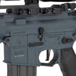 Evike Krytac War Sport Licensed LVOA-C M4 Carbine Airsoft AEG Rifle Left side Receiver