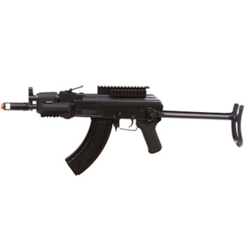 GameFace GF76 AK47 AEG Electric Full Semi-Auto Tactical-Style Carbine Airsoft Rifle with Battery Charger Black