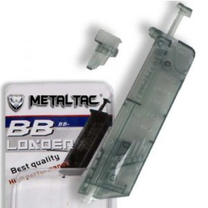 MetalTac Airsoft Gun Speed Loader with Capacity of 100 BBs