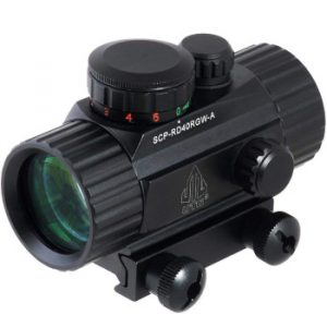 UTG 3-8 ITA Red Green CQB Dot Sight with Integral Mount for Airsoft Guns