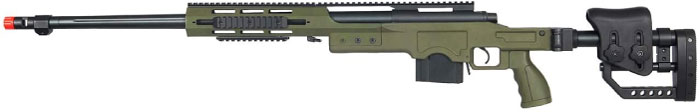 Well MB4411G Bolt Action Spring Airsoft Sniper Rifle Airsoft Gun