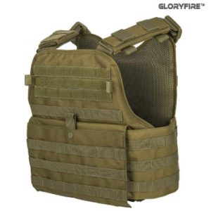 GFIRE Tactical Vest Modular Vest Breathable Combat Training Vest Adjustable Lightweight for Airsoft