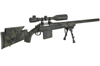 Sniper Rifle Airsoft Gun Evike APS M40A3 Realistic Action Airsoft Sniper Rifle