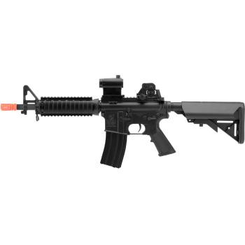 Soft Air Colt M4 A1 CQBR-RIS Electric Powered 395 FPS Airsoft Gun M4 AEG Airsoft Rifle