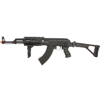 Soft Air Kalishnikov AK47 Electric Powered Full Metal 430 FPS Airsoft Rifle with Adjustable Hop-Up AEG Airsoft Rifle
