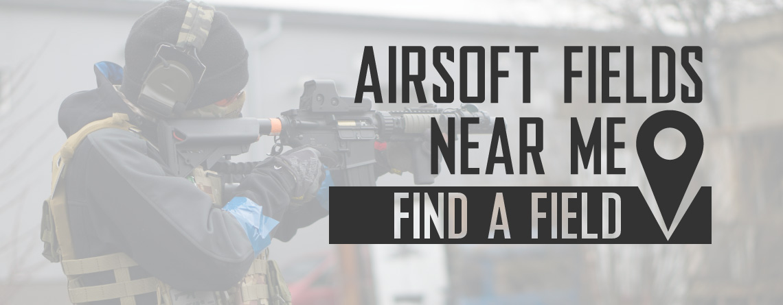 Airsoft Fields Near Me and Map of Airsoft Fields