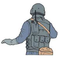 Tactical Hand Signal for Child