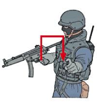 Tactical Hand Signal for Door
