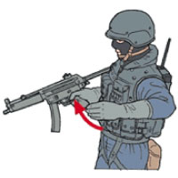 Tactical Hand Signal for Enter