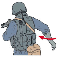 Tactical Hand Signal for Go