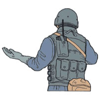 Tactical Hand Signal for Unable