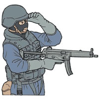 Tactical Hand Signal for Watch