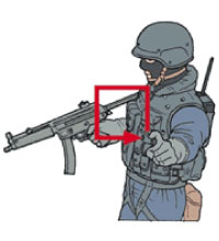 Tactical Hand Signal for Window