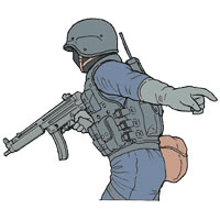 Tactical Hand Signal for You