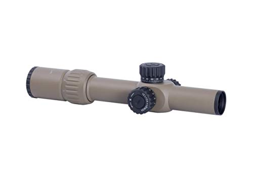 Monstrum Rifle Scope 1 Monstrum G3 1-6x24 First Focal Plane FFP Rifle Scope with Illuminated MOA Reticle