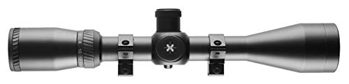 AXEON Rifle Scope 3 AXEON Optics 4-16x44mm EDR Etched Dot Reticle Adjustable Parallax Rifle Scope for Hunting - Includes 11mm Gun Scope Mounting Rings, Black