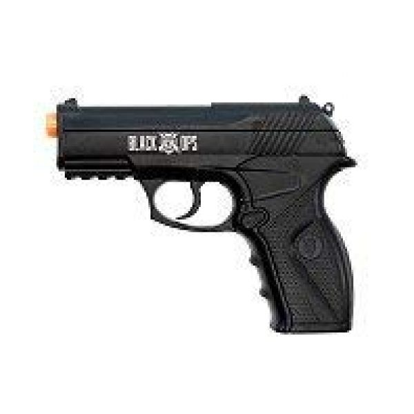 Black Ops Airsoft Pistol 2 Black Ops BOA Semi Automatic Airsoft Pistol - C02 Powered Airsoft BB Pistol - Shoot 6mm BBs