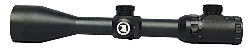Osprey Global Rifle Scope 1 Osprey Global 10-40x50 Illuminated Mil-Dot Glass Reticle 30mm-Tube TA Riflescope, Matte Black (10-40x 50mm)