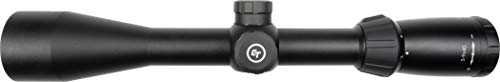 Crimson Trace Rifle Scope 4 Crimson Trace 3-9x40mm 1 Series Mid-Range Sport Riflescope with SFP, Duplex Reticle and Scope Rings for Hunting, Shooting and Outdoor