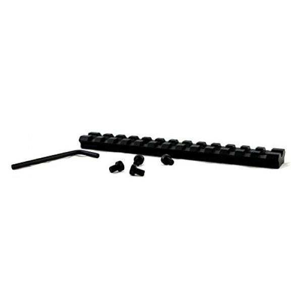 GOTICAL Rifle Scope 3 Gotical Tactical Scope Compact 4x32 Rifle Scopes .223 .308 Rifle Scope Mil-Dot Corsshair W/Scope Mounting Kit 1 Inch Scope Rings Mossberg 500 590 835 Shotgun Scope Mounts